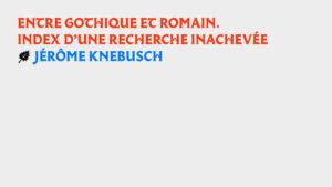 KNEBUSCH copie